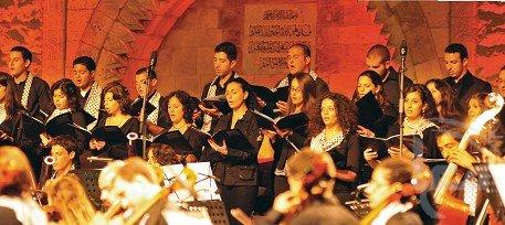 L'orchestre national palestinien