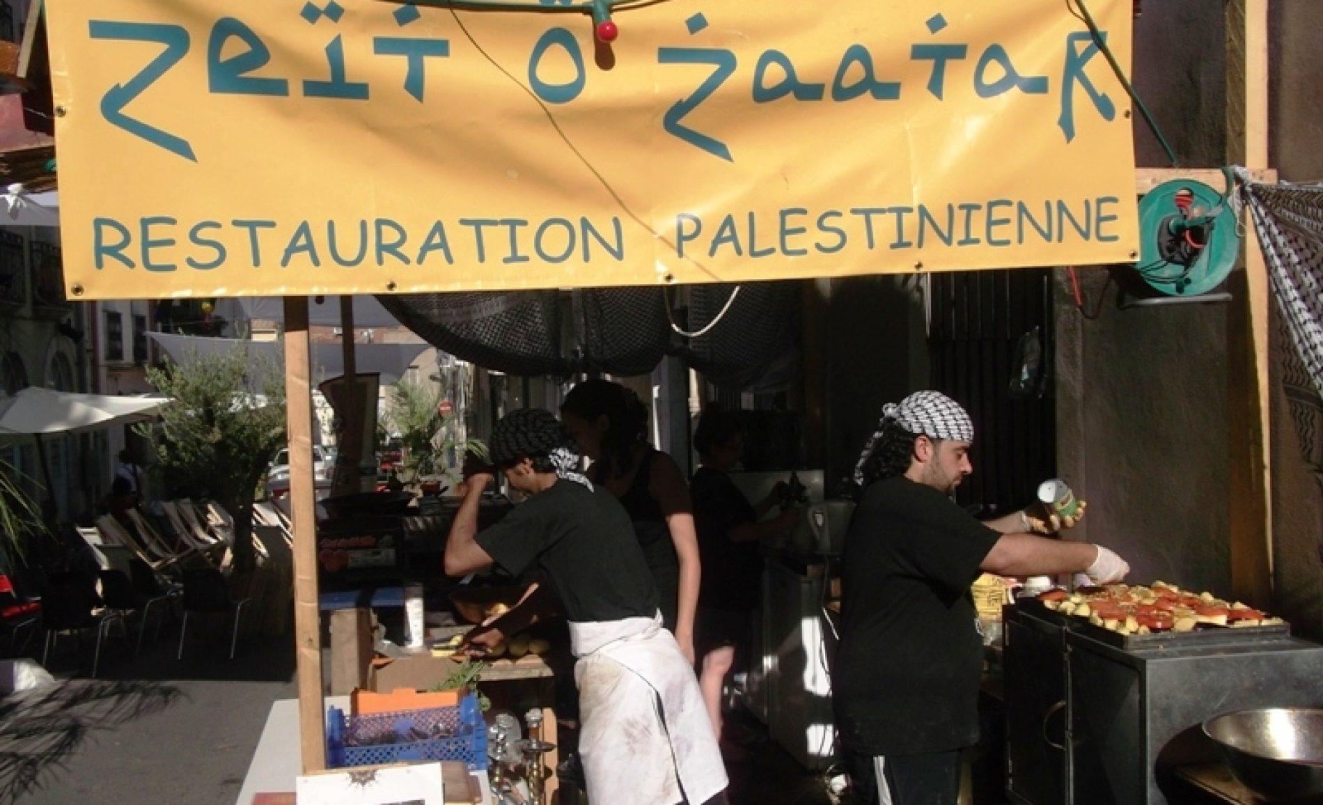Zeit O' Za'atar à la fête de l'Huma 2012