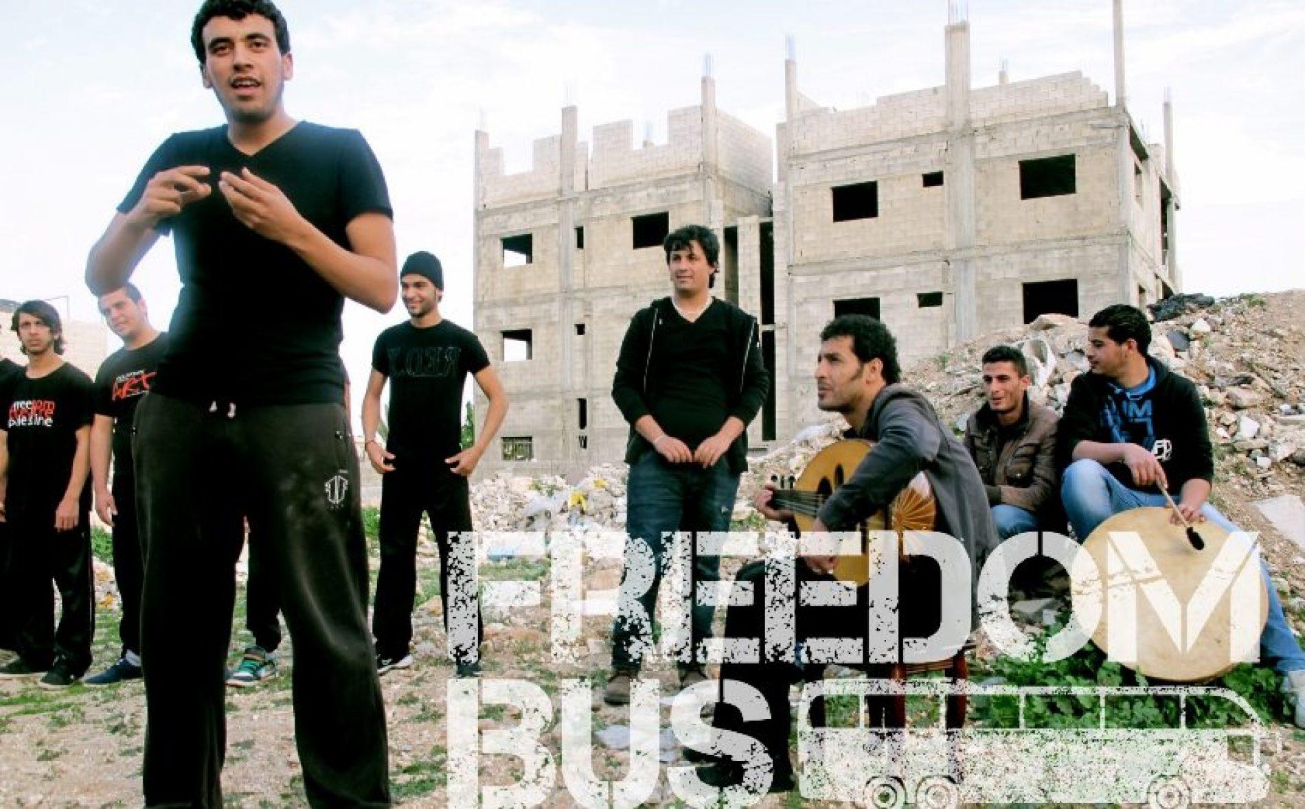 Freedom Bus, un projet des jeunes artistes palestiniens