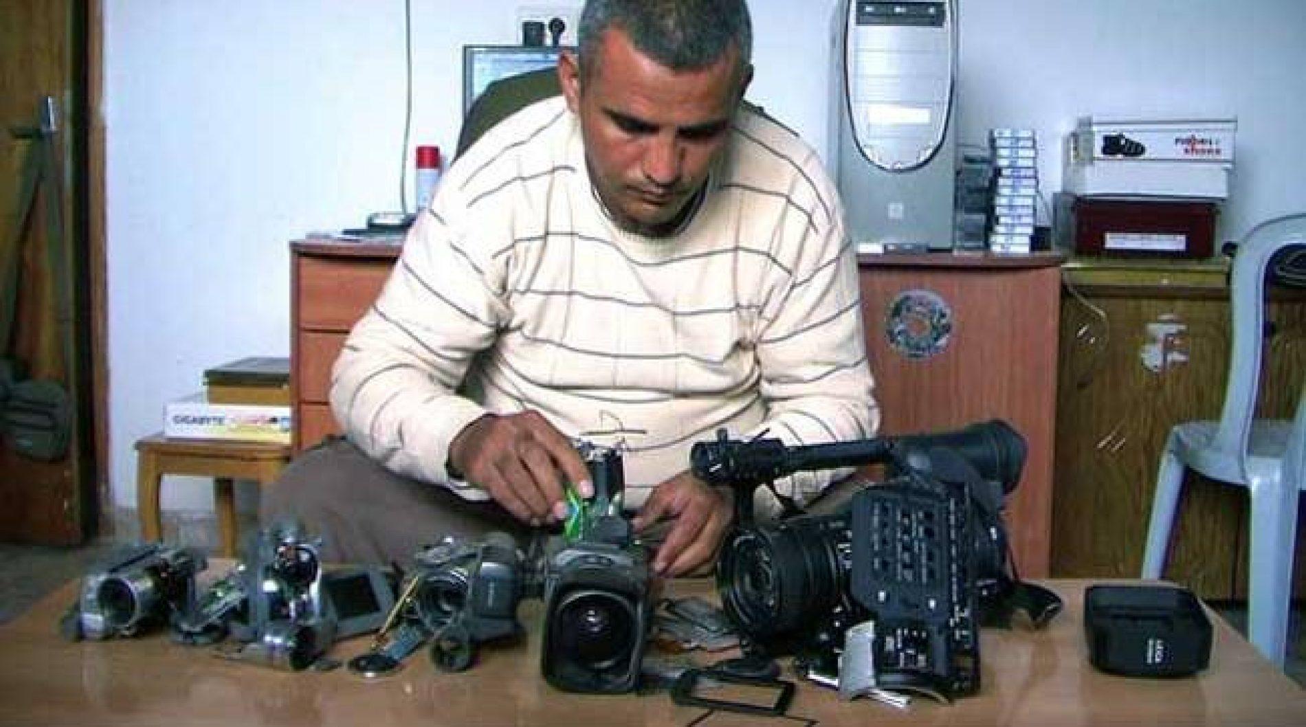 «Cinq caméras brisées» sur France 5