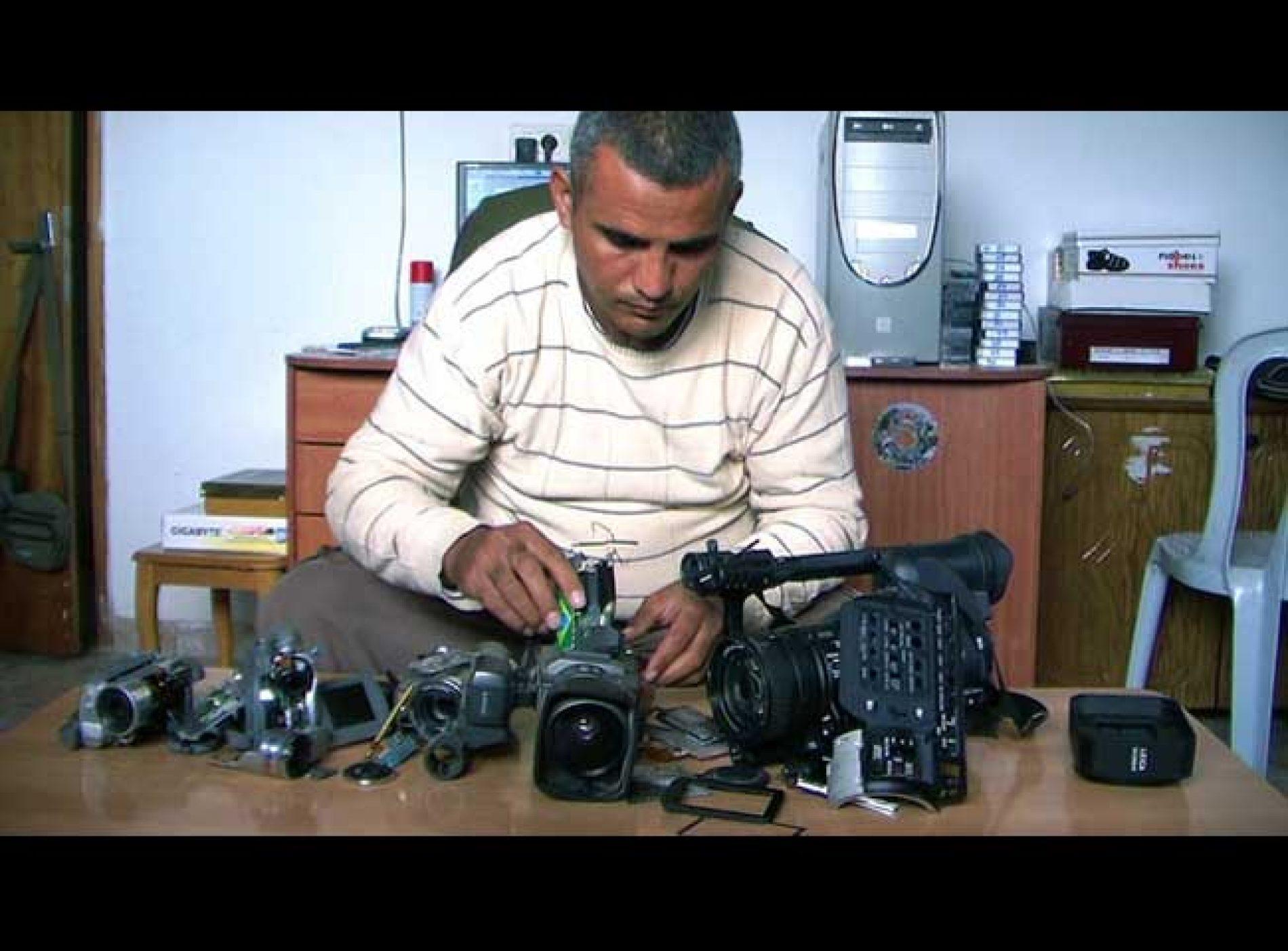 Cinq caméras brisées aux Oscars