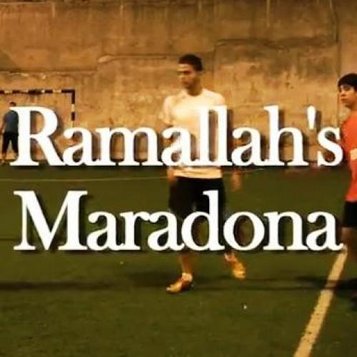 Ramallah's Maradona de Stéphane Valentin