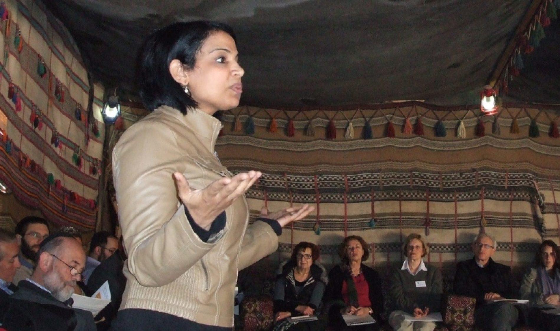 Lakiya Weaving à Palestine en Campagne