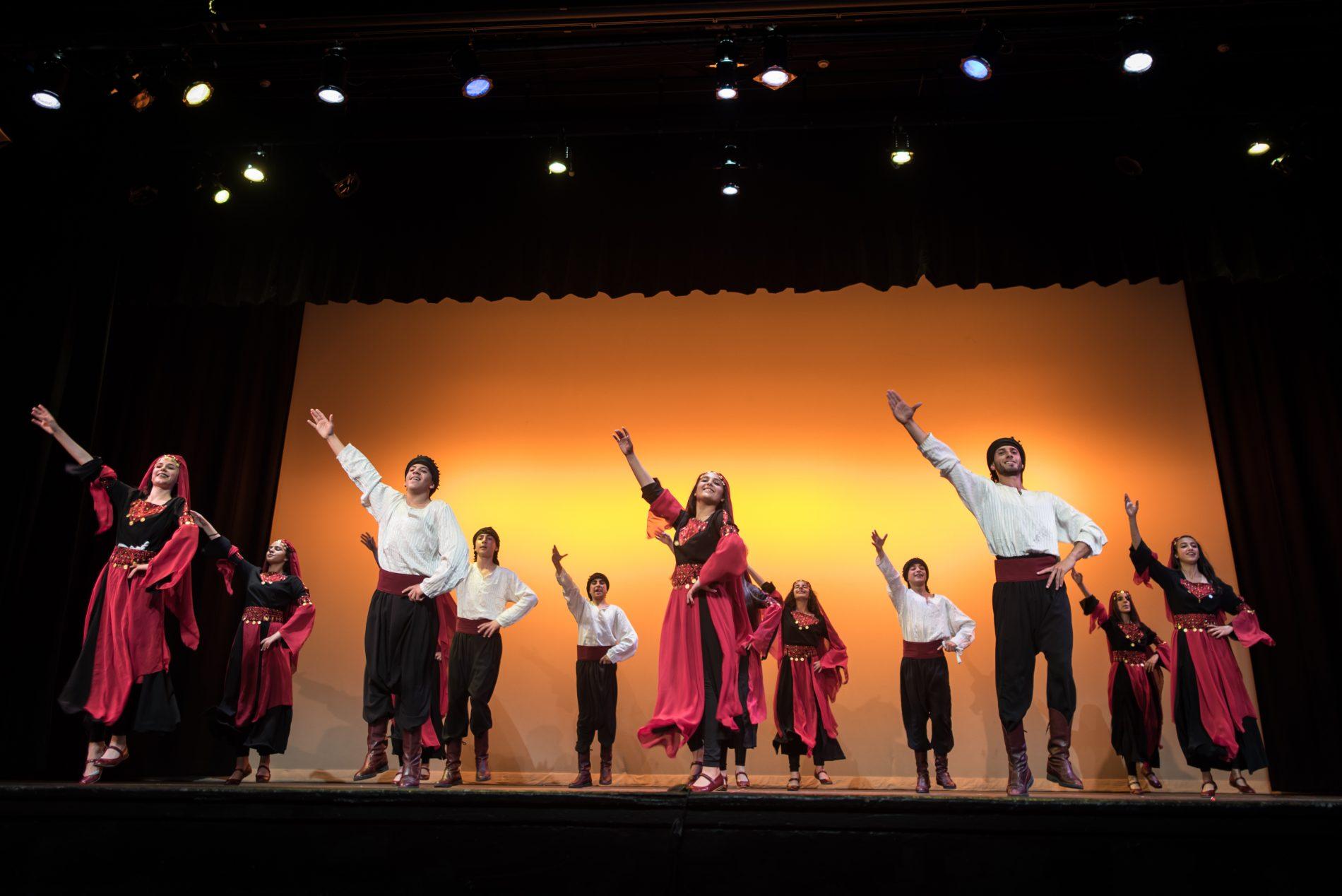 Troupe de danse de dabké à Palestine en Campagne 2017