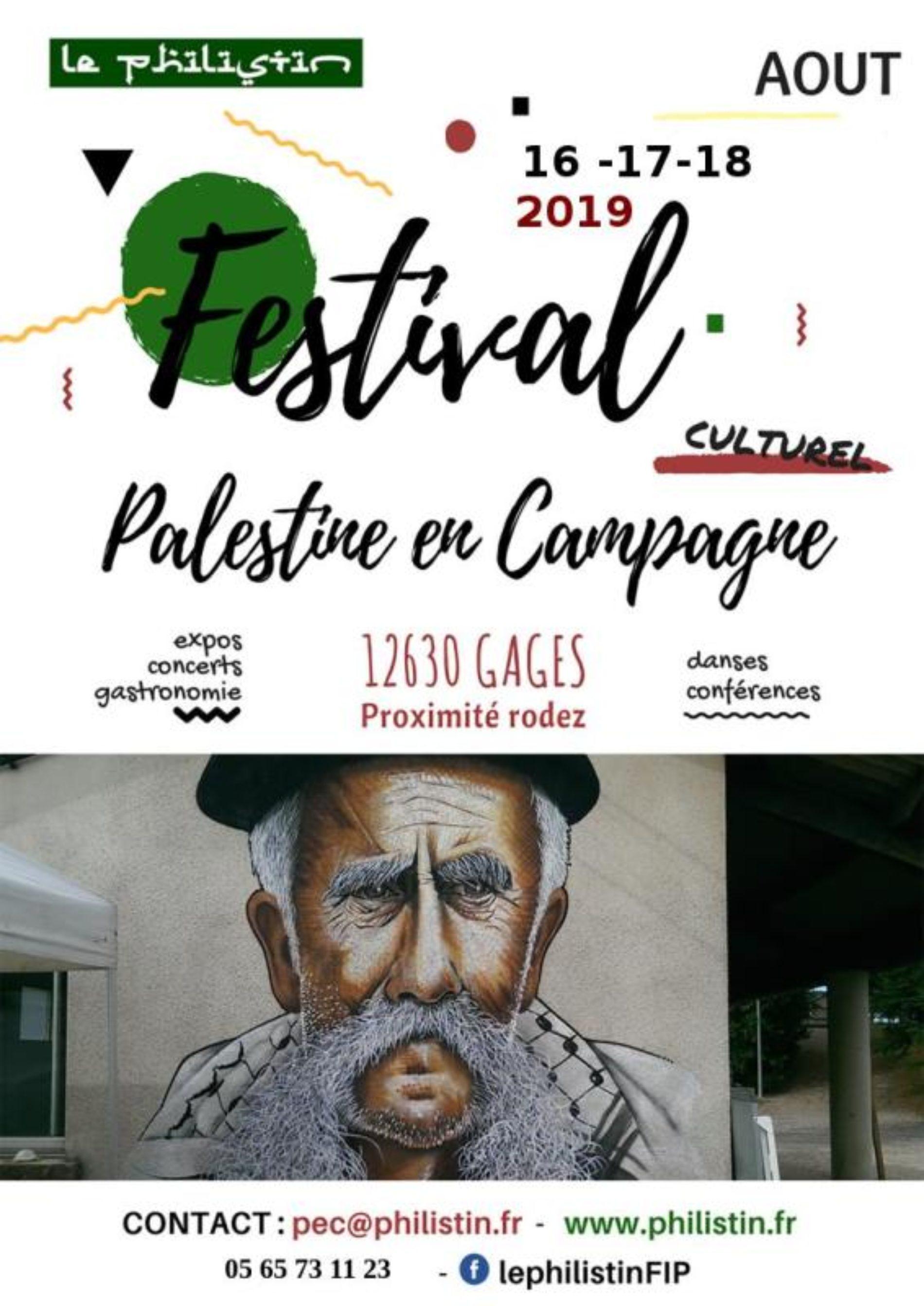 Palestine en Campagne 2019