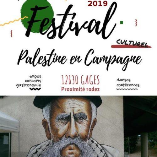 Palestine en Campagne 2019 en préparation, retenez les dates !