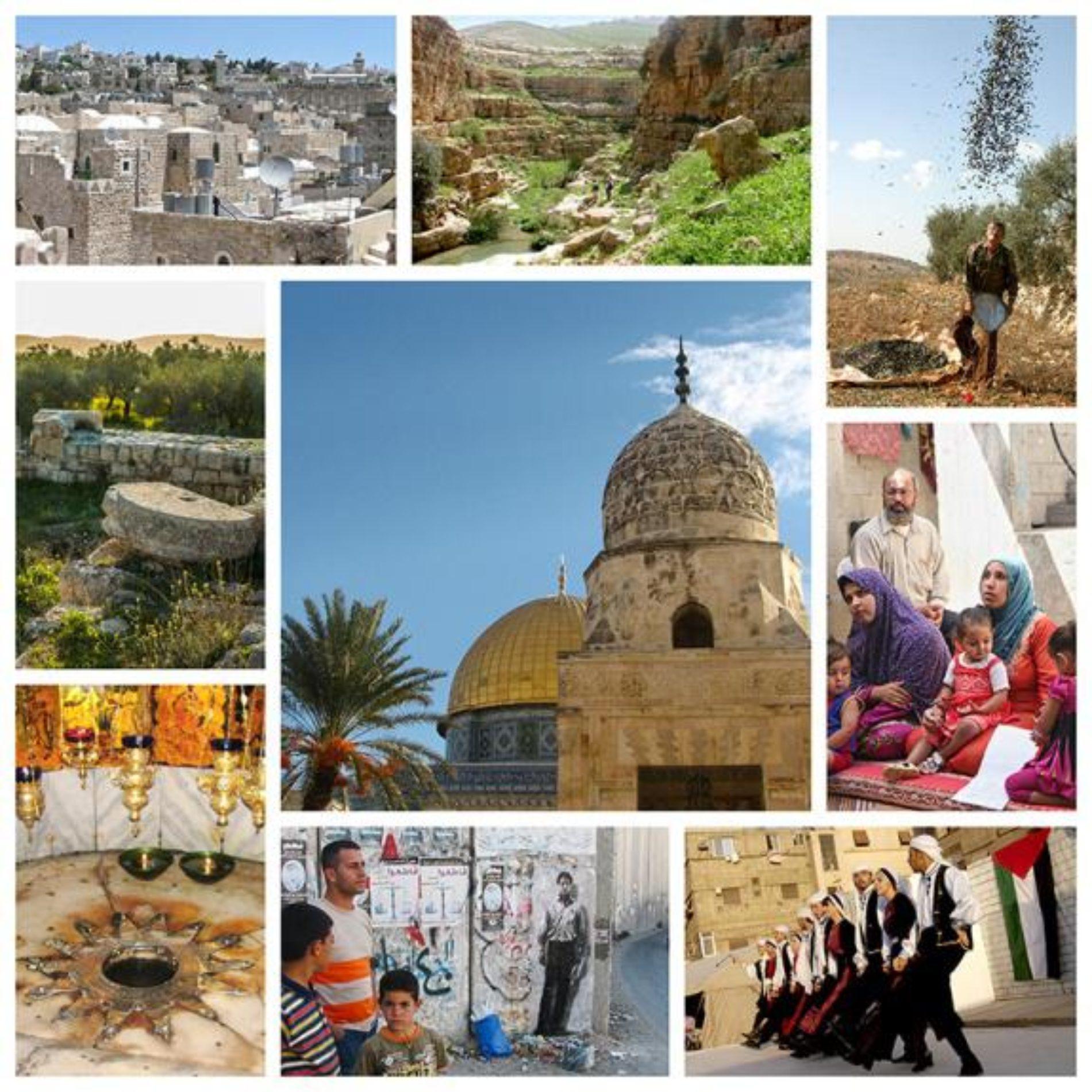 Table ronde sur la thématique  du voyage en Palestine  animée par Sabri Giroud directeur  de DIWAN VOYAGE